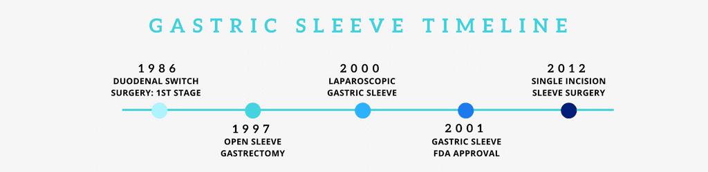 Gastric Sleeve Timeline