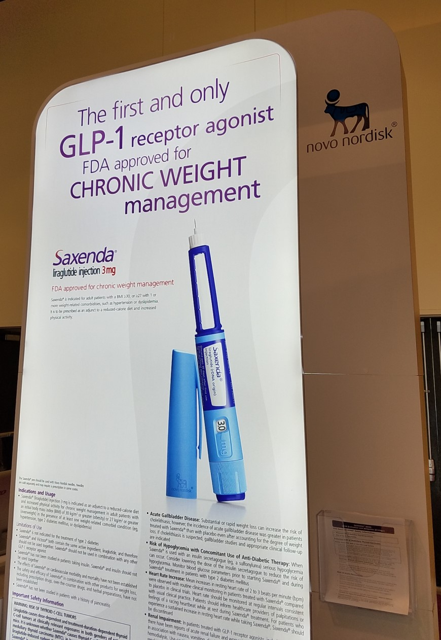 Weight Loss Medications - Pharmacotherapy for weight control - Saxenda