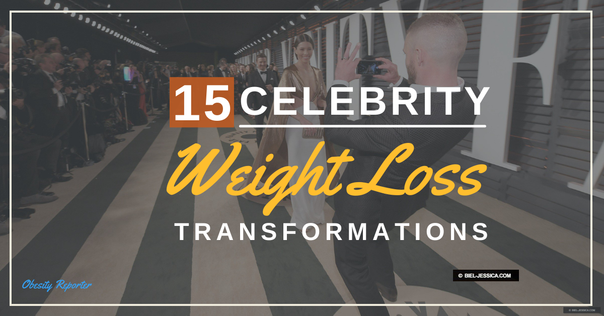 Top 15 Incredible Celebrity Weight Loss Transformations
