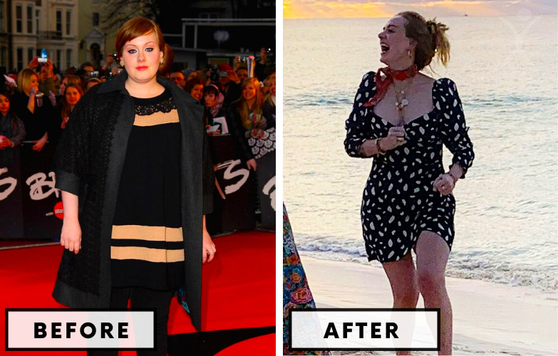Adele Weight Loss - Celebrity Weight Loss Photo