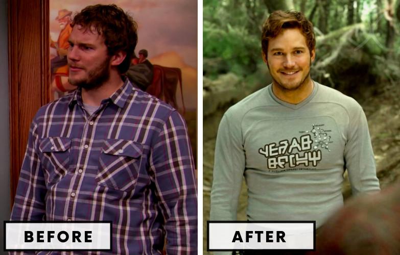 Chris Pratt Weight Loss - Celebrity Weight Loss Photo