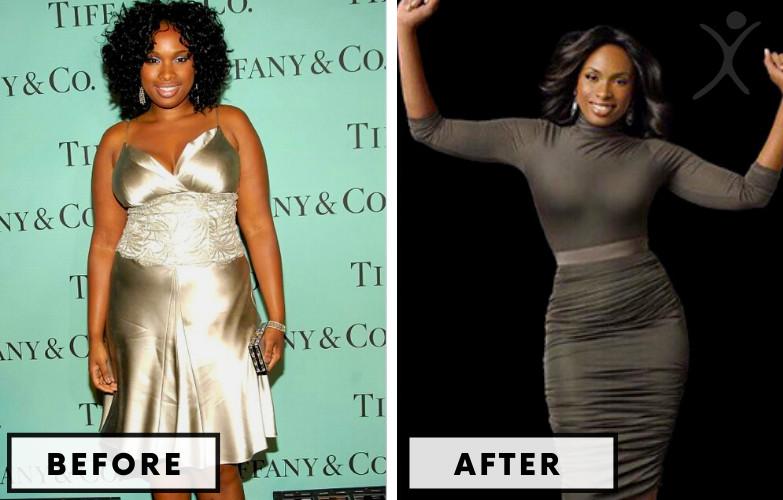 Jennifer Hudson Weight Loss - Celebrity Weight Loss Photo
