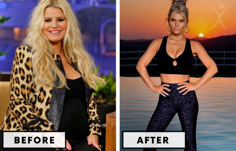 Jessica Simpson Weight Loss - Celebrity Weight Loss Photo