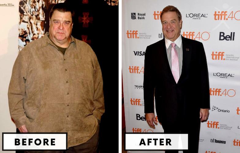 John Goodman Weight Loss - Celebrity Weight Loss Photo