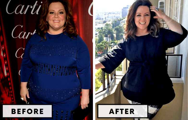 Melissa McCarthy Weight Loss - Celebrity Weight Loss Photo