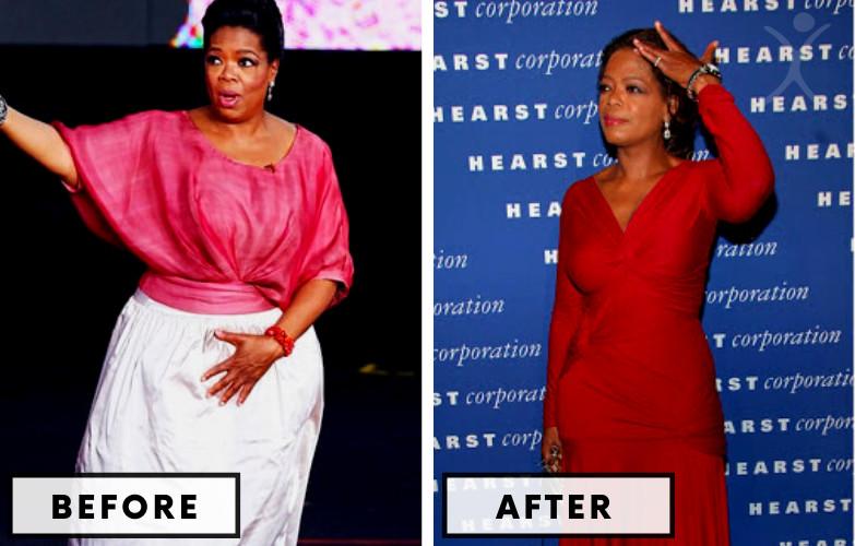 Operah Winfrey Weight Loss - Celebrity Weight Loss Photo